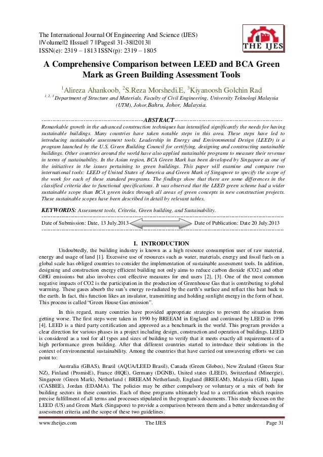 The International Journal Of Engineering And Science (IJES) ||Volume||2 ||Issue|| 7 ||Pages|| 31-38||2013|| ISSN(e): 2319 ...