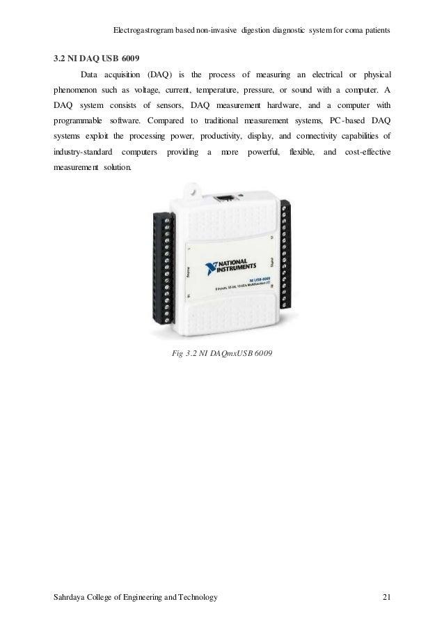 electrogastrogram based digestion detection system for coma patients