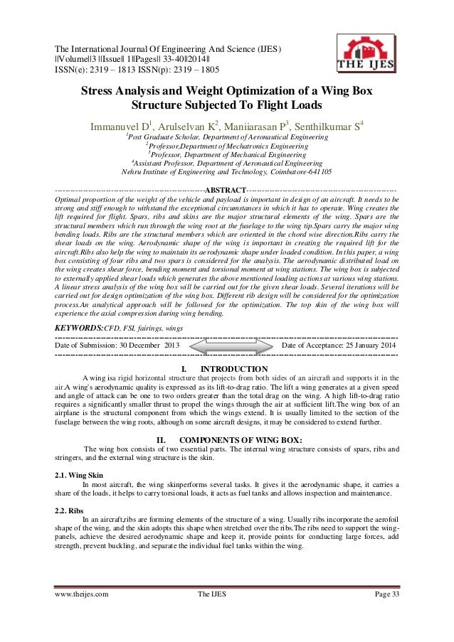 The International Journal Of Engineering And Science (IJES) ||Volume||3 ||Issue|| 1||Pages|| 33-40||2014|| ISSN(e): 2319 –...