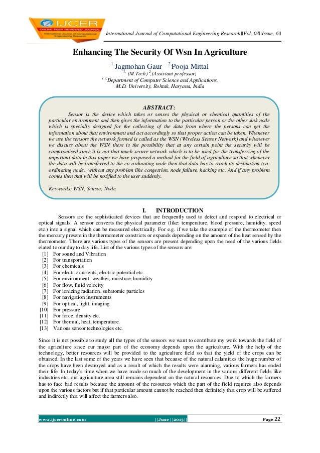 International Journal of Computational Engineering Research||Vol, 03||Issue, 6||www.ijceronline.com ||June ||2013|| Page 2...