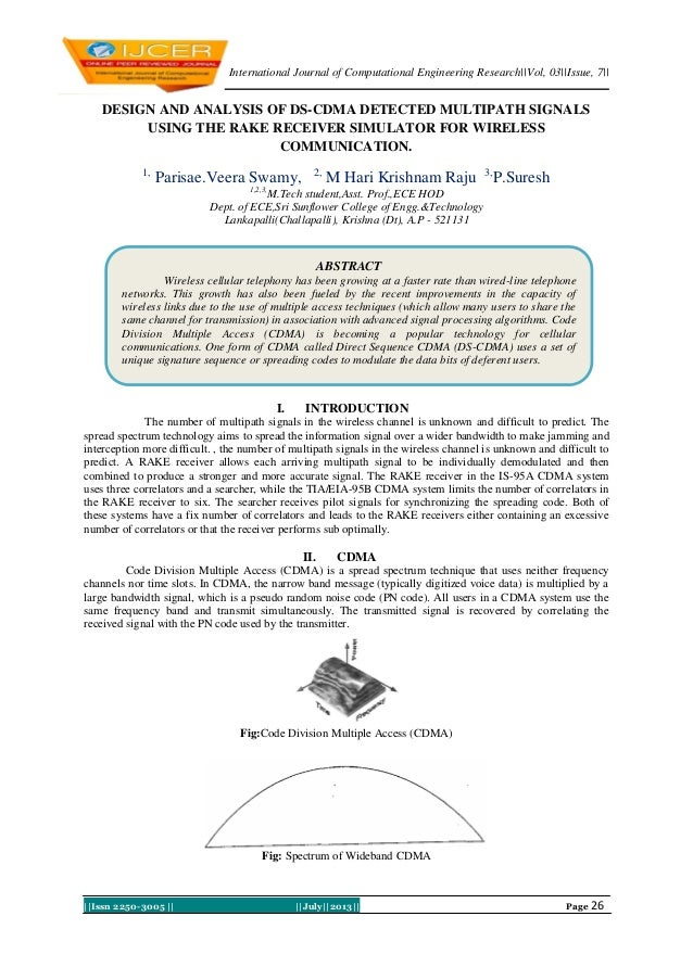 International Journal of Computational Engineering Research||Vol, 03||Issue, 7|| ||Issn 2250-3005 || ||July||2013|| Page 2...
