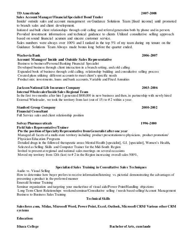 SlideShare  Cold Calling Resume