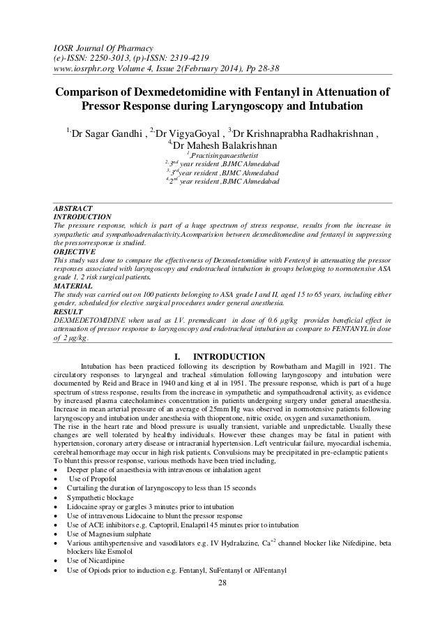 IOSR Journal Of Pharmacy (e)-ISSN: 2250-3013, (p)-ISSN: 2319-4219 www.iosrphr.org Volume 4, Issue 2(February 2014), Pp 28-...
