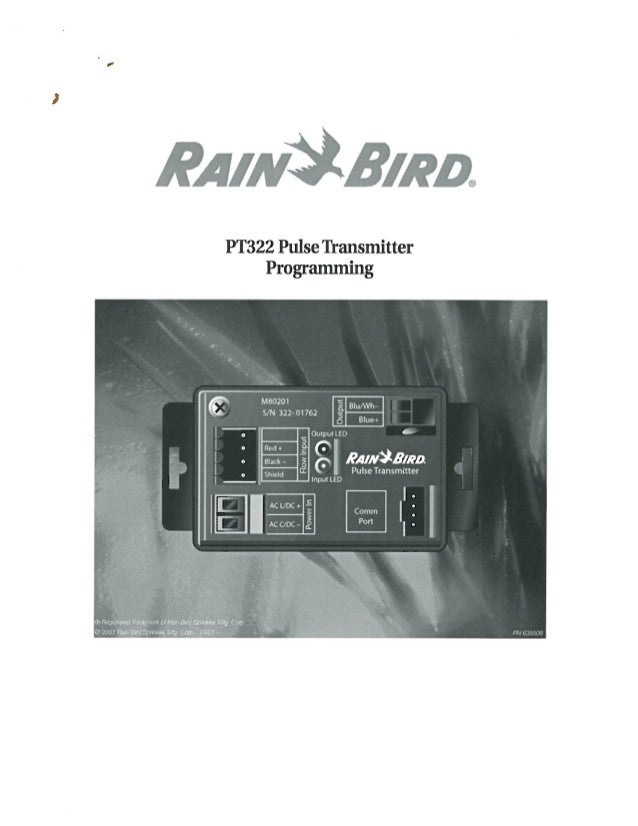 RainBird Pulse Transmitter