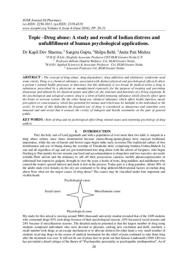 IOSR Journal Of Pharmacy (e)-ISSN: 2250-3013, (p)-ISSN: 2319-4219 www.iosrphr.org Volume 4, Issue 6 (June 2014), PP. 28-31...