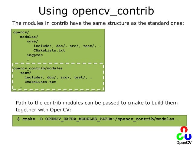 The OpenCV Open Source Computer Vision Library: Latest