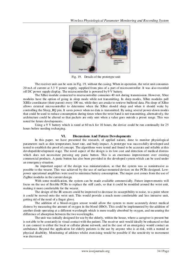Wireless Physiological Parameter Monitoring and Recording System                                      Fig. 19. Details of ...