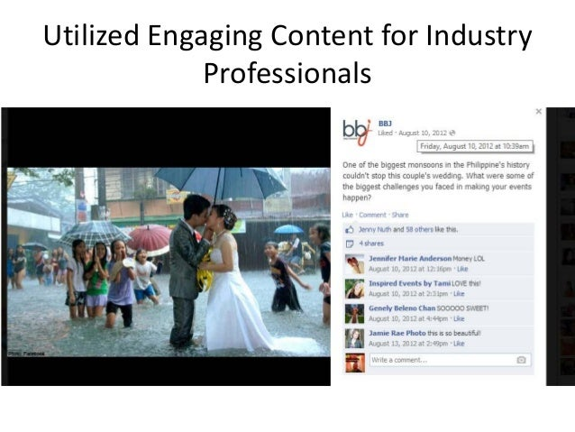 Utilized Engaging Content for Industry Professionals