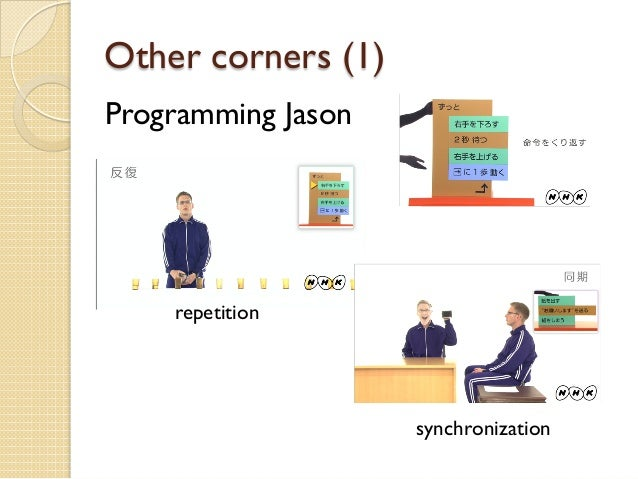Other corners (1) Programming Jason repetition synchronization