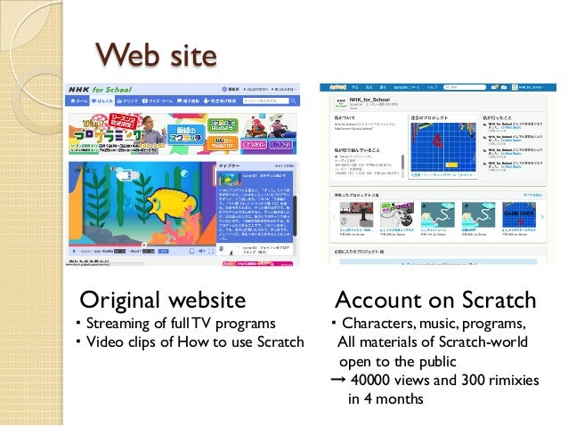 A Japanese TV program for programming education using Scratch