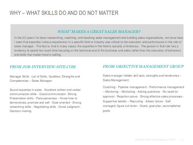 the sales team lacks closing skills coaching recruiting and mentoring is ineffective 11 - Manager Skills List Of Skills Qualities Strengths And Competencies
