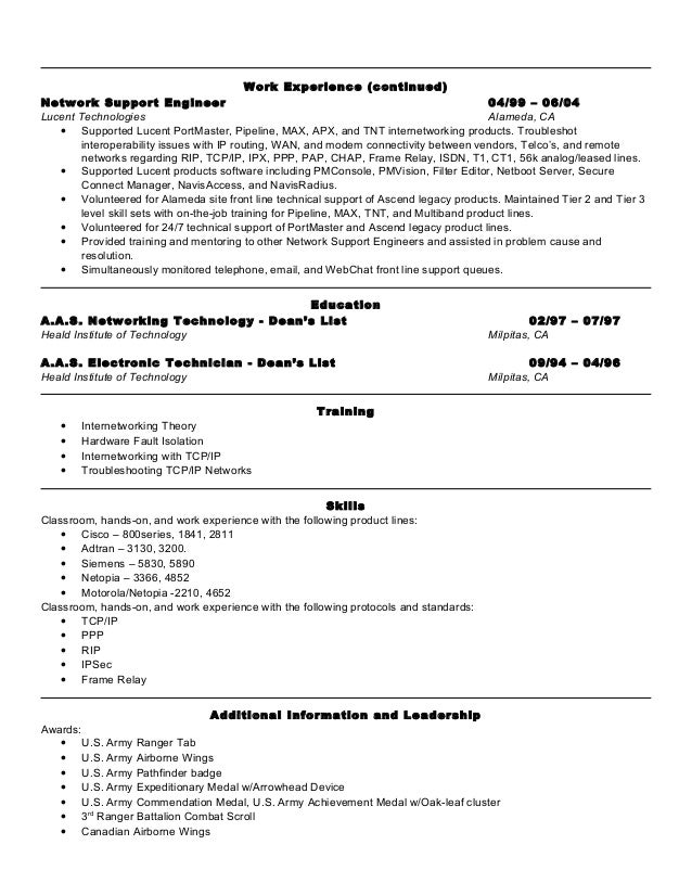 army experience on resume military resume 8 free word pdf documents