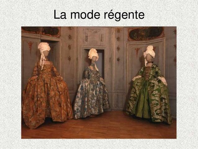 La mode régente