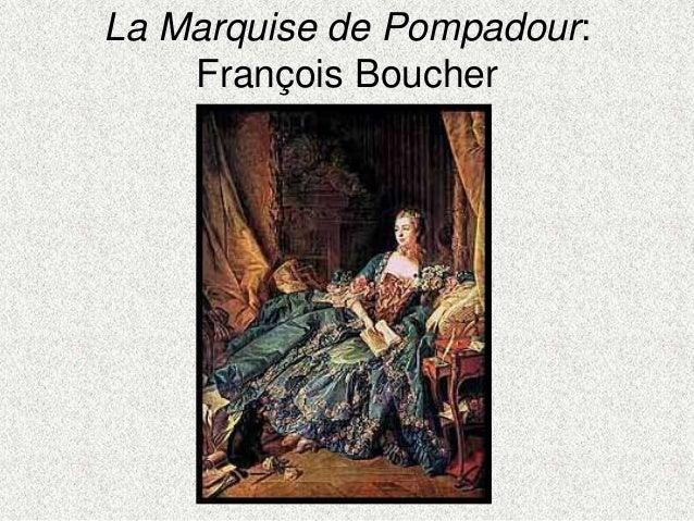 La Marquise de Pompadour:François Boucher