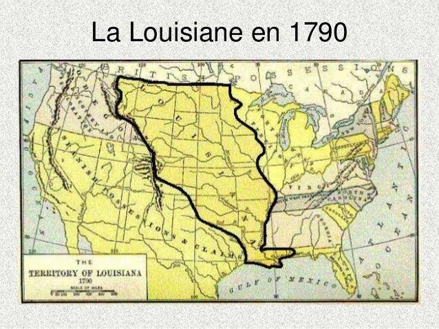 La Louisiane en 1790