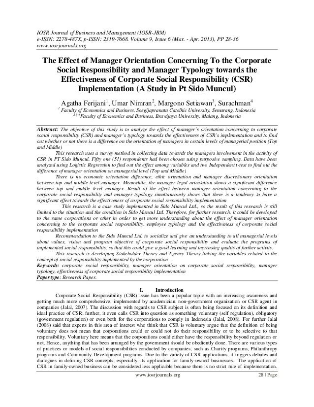 IOSR Journal of Business and Management (IOSR-JBM)e-ISSN: 2278-487X, p-ISSN: 2319-7668. Volume 9, Issue 6 (Mar. - Apr. 201...