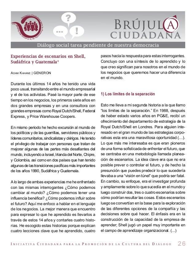 Revista Brújula Ciudadana número 69