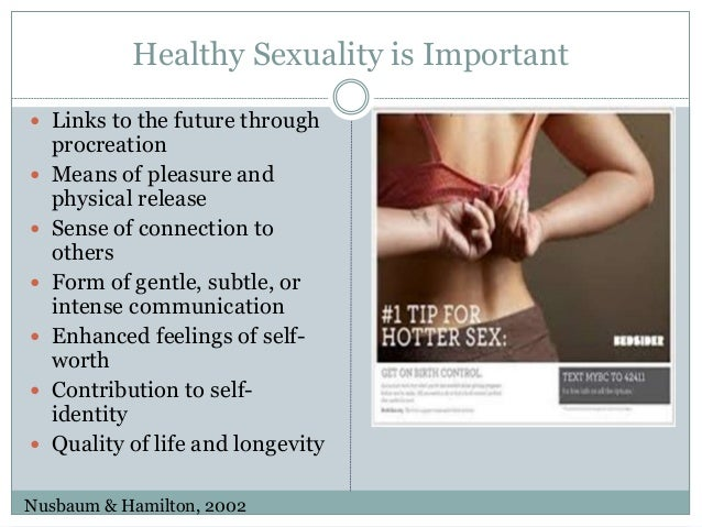 Importance of healthy sex life
