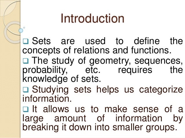 set definition theory application Social work theory and application to practice: the students about social work theory and application to definition of hbse theory is often.