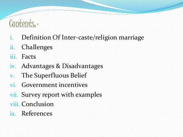 advantages and disadvantages of religion definition As one commences the process of becoming competent in integrating spirituality and religion into counseling,  for the purpose of this paper, the definition of.