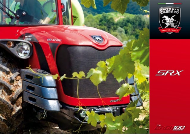 ERGIT 100:A NEW TRACTOR CONCEPTAntonio Carraro SPA produces specialized tractors for professionals wishing to experienceth...