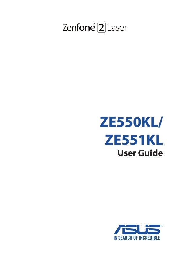 ZE550KL/ ZE551KL User Guide