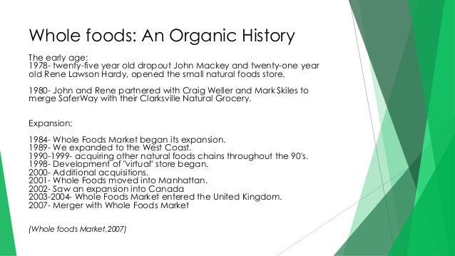 Whole Foods Market Competitive Advantage