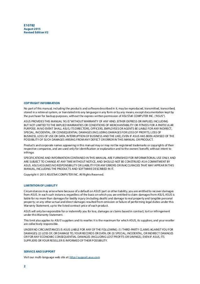 ASUS ZenPad S 8.0 Manual / User Guide Slide 2