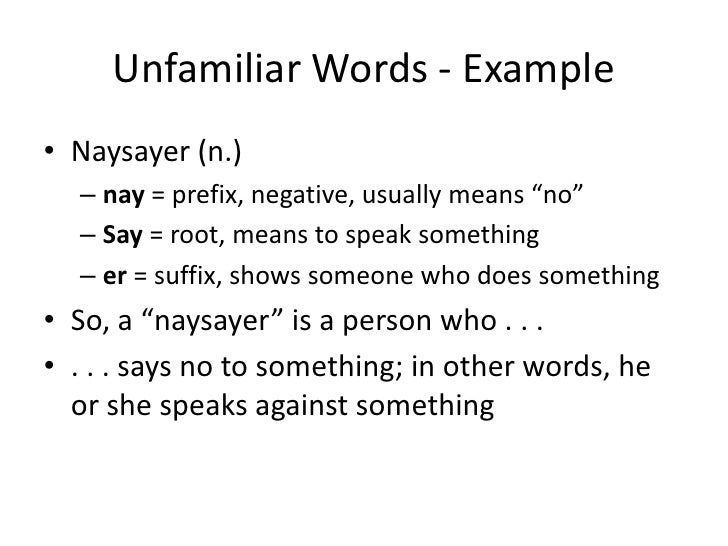 Distinguish between key terms and their synonyms.