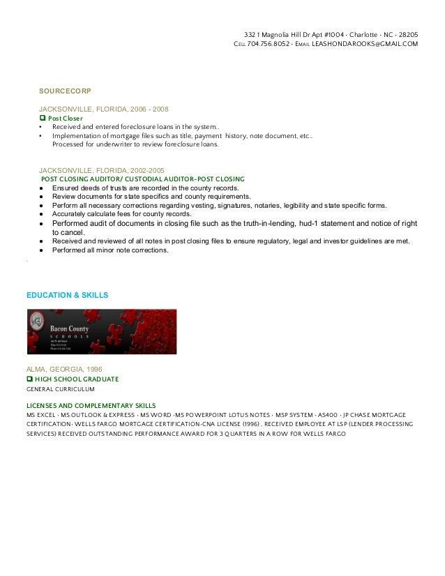 Leashonda Resume
