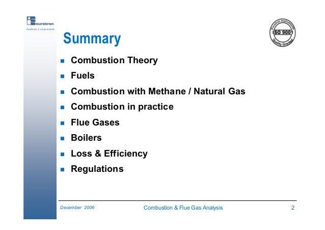 Natural Gas Flue Gas Analysis