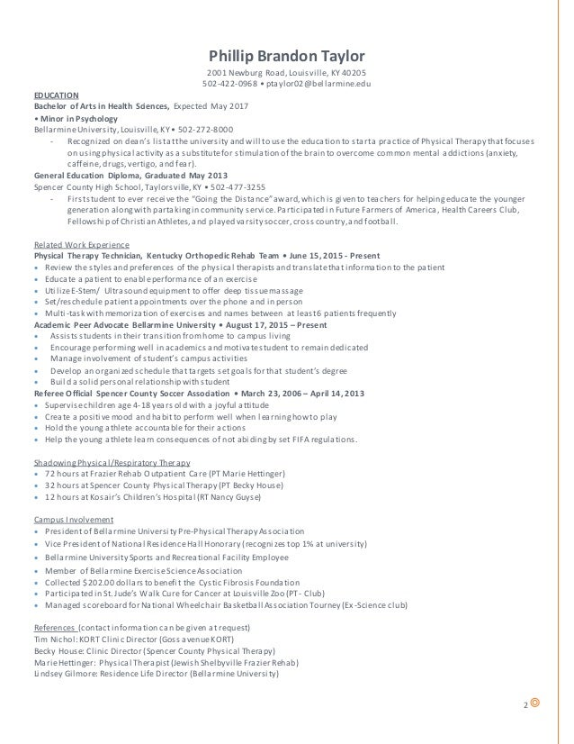 Resume Pre-Pt Linkedin (Revised)