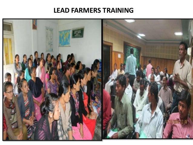 LEAD FARMERS TRAINING
