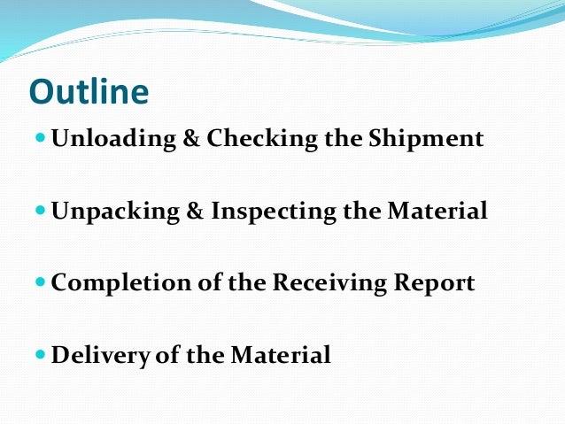 Receiving Procedures Template 001_Show