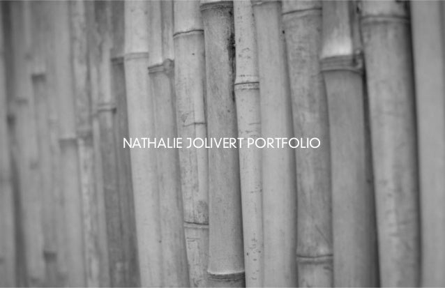 NATHALIE JOLIVERT PORTFOLIO