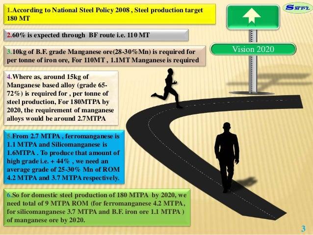 manganese beneficiation ppt Slide 3