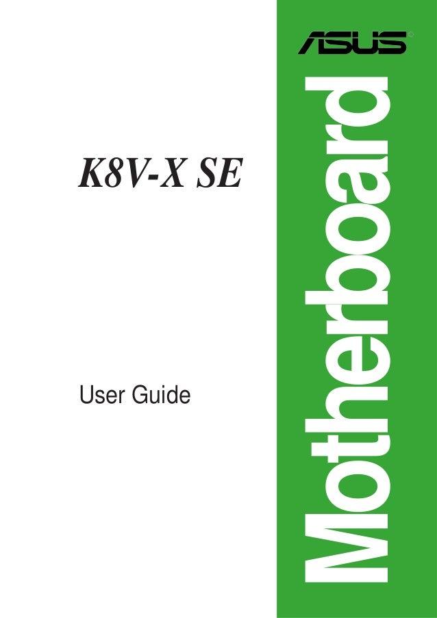 Asus k8v-x se motherboard atx socket 754 k8t800 overview.