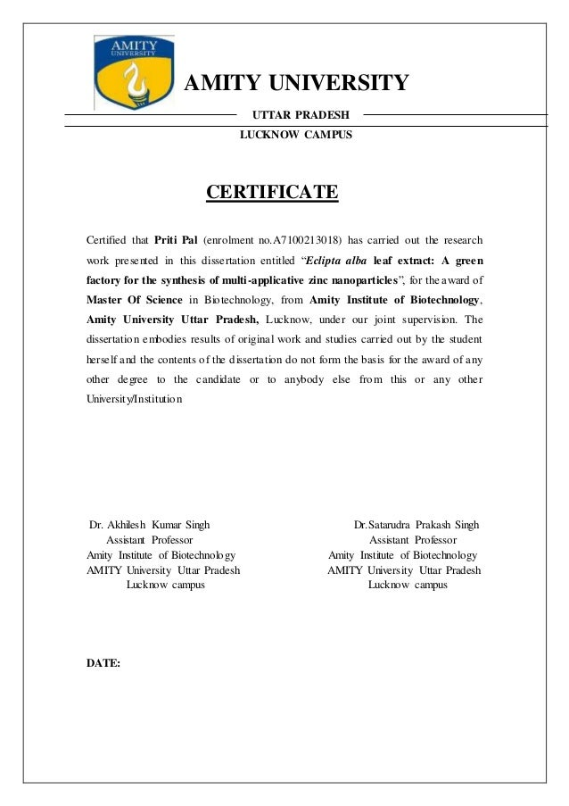 dissertation work for m.sc biotechnology Msc medical biotechnology posted by  an interdisciplinary module has been developed for selection of relevant dissertation work 8  msc medical anatomy.