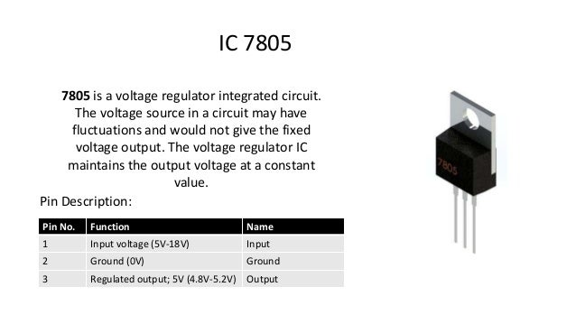 Ic 7805 Pin Diagram 100 Images Dc To Dc Battery Charger Learn