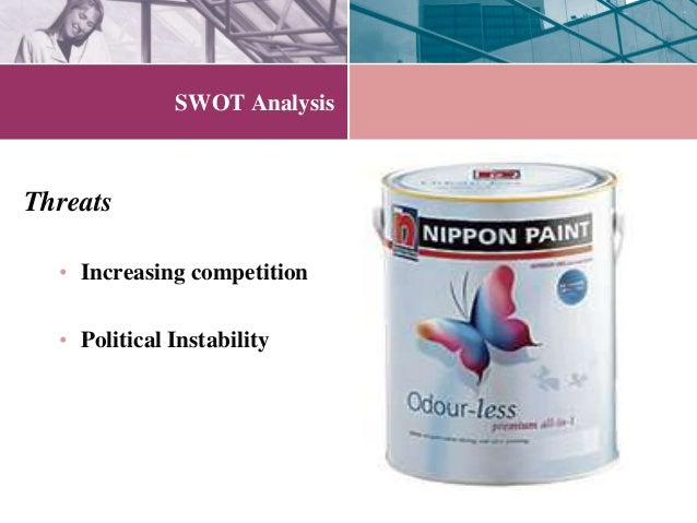 analysis on nippon paint ads Japan paint market report to 2021 +49 322 210 92714 (gmt office hours) nippon paint split by product types, with sales, revenue, price figure manufacturing process analysis of paint figure paint industrial chain analysis.