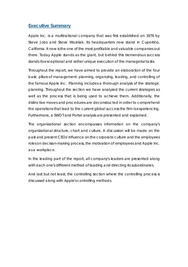 apple case study essay