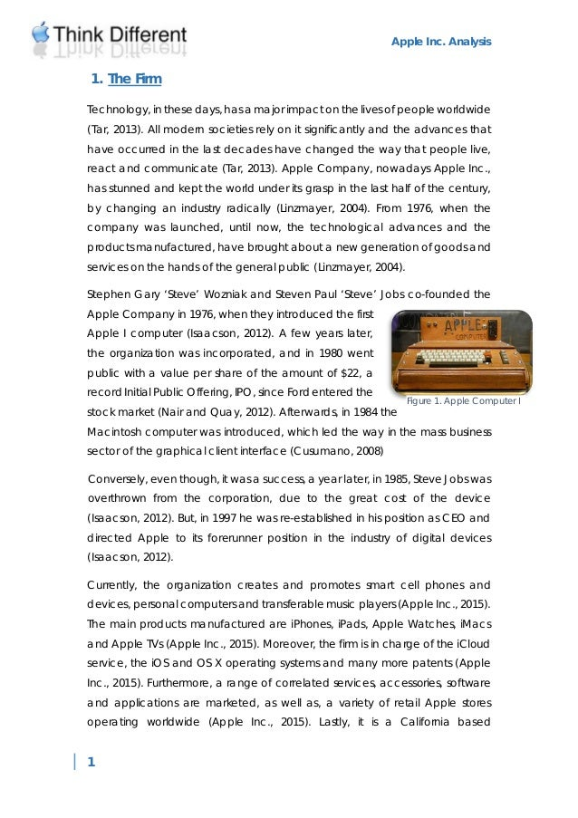 Apple computer inc case study 14