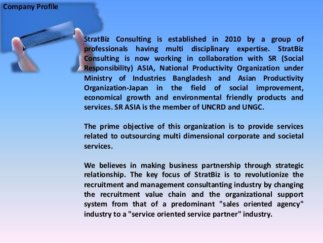 Company Profile Slide 2