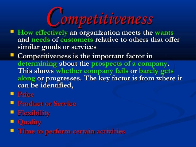 "competitiveness how effectively an organization meets Effective talent management has become an essential strategy for organizational success hr payroll benefits  will help the organization meet or exceed its down-the-road goals a  real-time access to people and information that can give your organization a competitive edge integration also helps to avoid the danger of ""siloing."