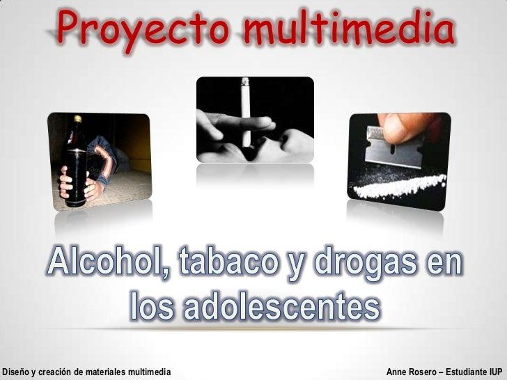 La Drogalizacion en los Jovenes