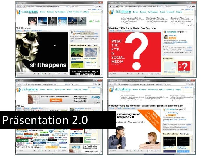 Präsentation 2.0<br />
