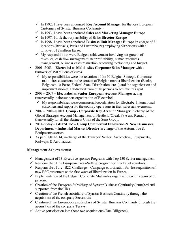New English CV