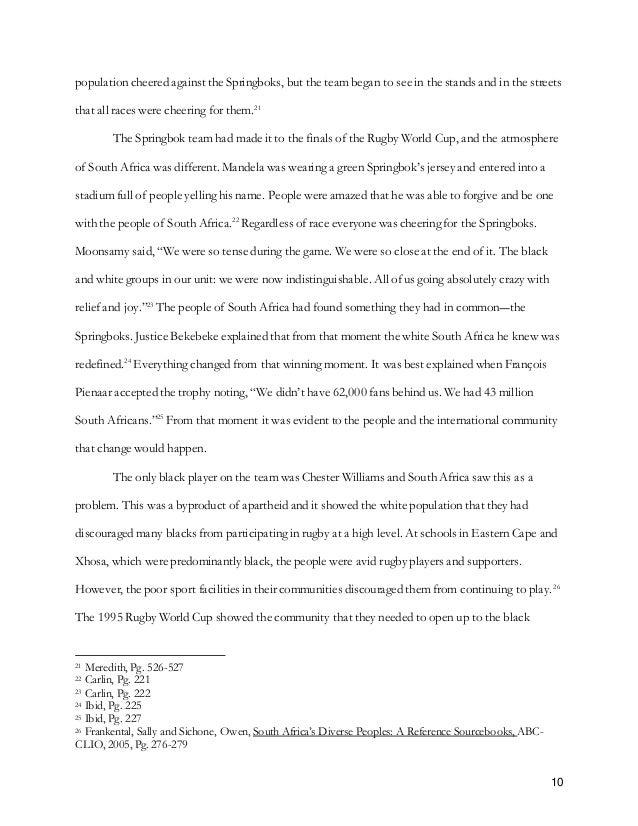 A xhosa essay