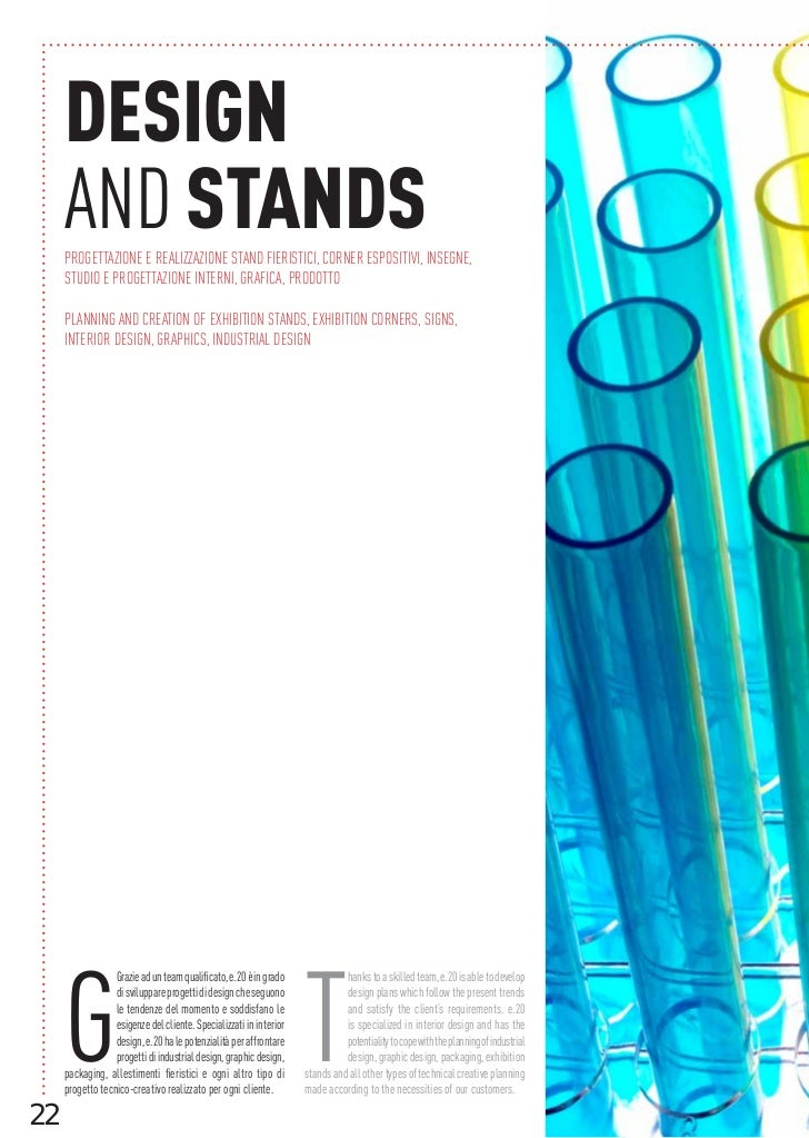 DESIGN     AND STANDS     PROGETTAZIONE E REALIZZAZIONE STAND FIERISTICI, CORNER ESPOSITIVI, INSEGNE,     STUDIO E PROGETT...