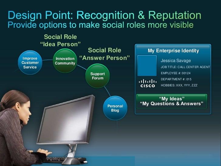 """Social Role                                         """"Idea Person""""                                                         ..."""